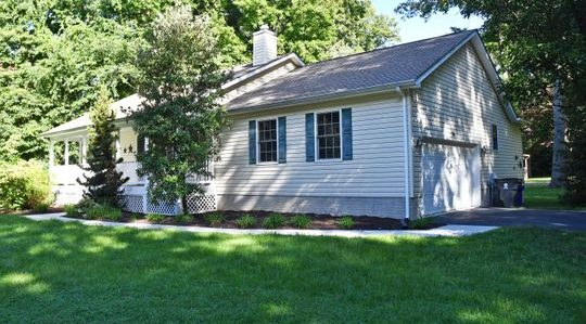 SOLD!!!! Pristine Water Oriented Ranch Home