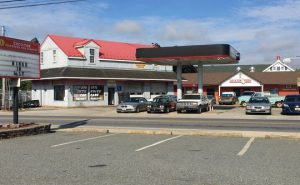 High visibility commercial corner lot